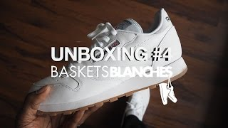 Video Unboxing #4 by Baskets Blanches - Reebok Classic Leather OG White/Gum MP3, 3GP, MP4, WEBM, AVI, FLV Juni 2017