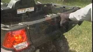 8. ATV Television Test - 2009 Polaris 500 X2