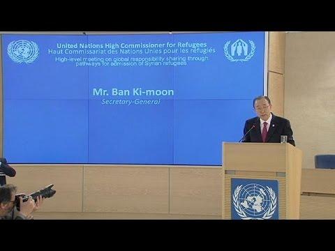 Έκκληση Ο.Η.Ε. για υποδοχή 480.000 προσφύγων