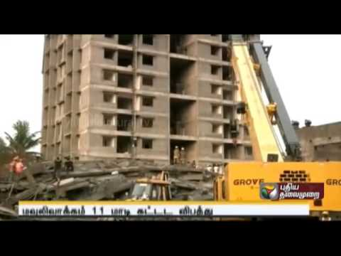 Moulivakkam building collapse   construction not as per plan says CMDA