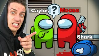 IMPOSTOR Caught HACKING in AMONG US!  (With Caylus, RageElixir, Action)