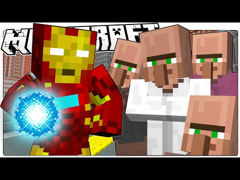 Minecraft   IRON MAN SAVES MINECRAFT   Custom Mod Adventure (Minecraft Roleplay)