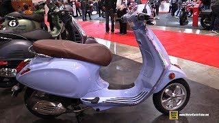 8. 2018 Vespa Primavera Scooter - Walkaround - 2018 Toronto Motorcycle Show