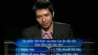 who want to be a millionaire - Ky luc Ai la trieu phu tai Viet Nam - part 3