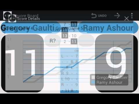 Video of Squash Score Board Squore
