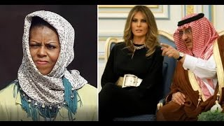Video MICHELLE IS PISSED! WHEN SHE SEES WHAT THE SAUDI KING DID FOR MELANIA! MP3, 3GP, MP4, WEBM, AVI, FLV Mei 2017