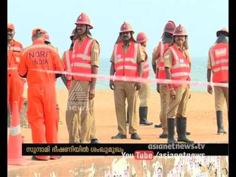 NDRF-conducts-Tsunami-Mock-Drill-in-Shangumukham-beach-12-03-2016