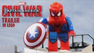 Video Captain America: Civil War - Trailer 2 IN LEGO download in MP3, 3GP, MP4, WEBM, AVI, FLV January 2017