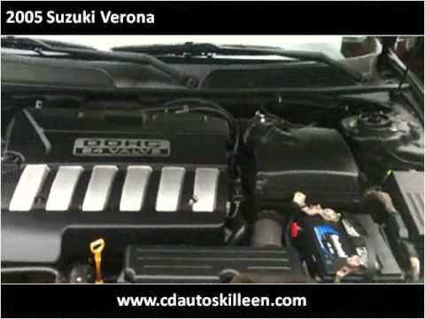 2005 Suzuki Verona Used Cars Killeen TX