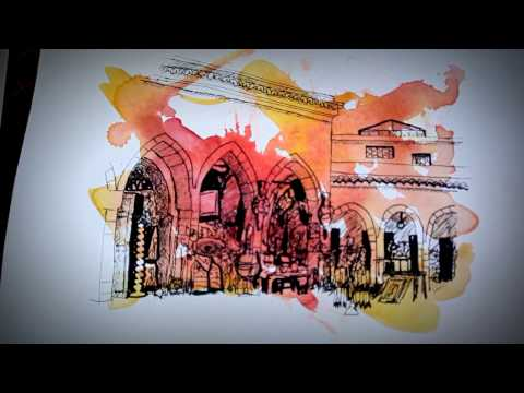 Evocative Morocco - 2016 Art tour with Ev Hales
