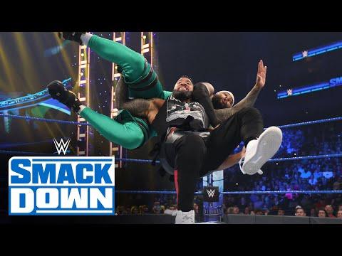 The Street Profits vs. The Usos SmackDown, Sept. 3, 2021