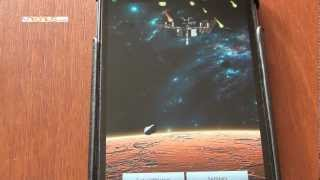 Space live wallpaper YouTube video