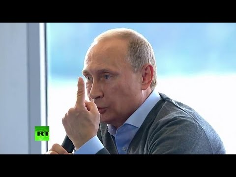 "or - Answering questions during a Q&A session at the ""Seliger-2014"" youth forum, Russian president Vladimir Putin pointed to Iraq and Libya as examples of 'doomed' unilateralism and why such..."