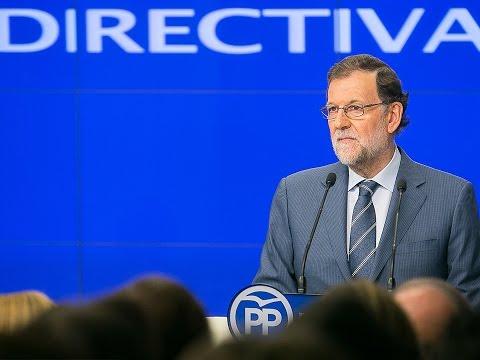 """Rajoy: """"Tan malo es no tener un Gobierno como tener un Gobierno al que no se deja gobernar"""""""