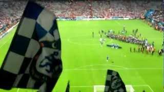 Chelsea-Fans feiern Didier Drogba