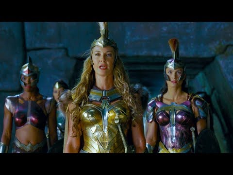 Steppenwolf attacks on Themyscira | Justice League [UltraHD, HDR]