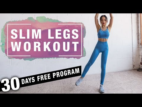 Slim Legs Workout | Thigh Fat Burning Workout (no Jumping) | Free Program
