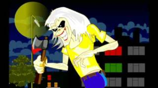 IRON MAIDEN CARTOONS - KILLERS 2/9