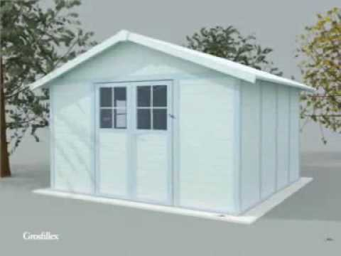 Grosfillex linea utility 4 9 garden home caseta de for Casetas metalicas a medida