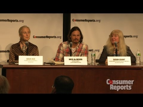 mobile technology - Consumer Reports hosts an event on mobile technology and security. The event featured John Morris from the National Telecommunications and Information Admini...