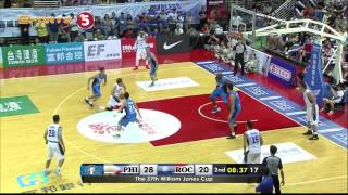 Terrence Romeo's sick crossover vs. Chinese Taipei and Jordan Clarkson's reaction | JONES CUP 2015