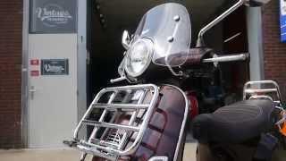 7. 2011 Vespa LX50 Touring 4t snor full option
