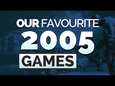 Our Top 10 Video Games From 2005!