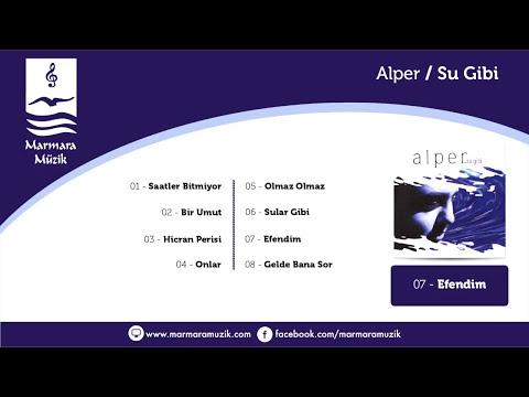 Alper – Efendim Sözleri