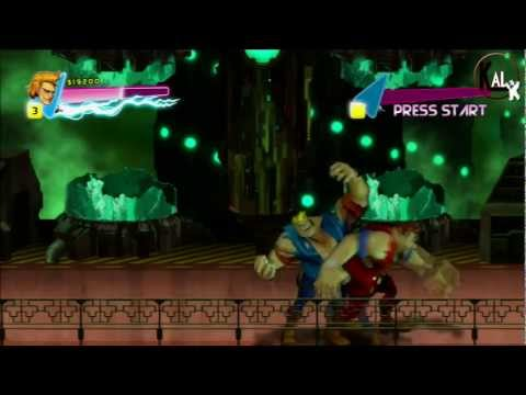 Walkthrough Double Dragon Neon - Niveau 6 et 7 - Mode Normal Ps3