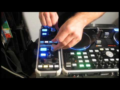 """How to create a """"Dubstep Wobble Bassline"""" with Vestax VCI300 and VFX1 Effect Controller"""