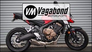 8. Honda CB650F (2018+) / CBR650F (2016+) Fender Eliminator Install - Vagabond Motorsports VM-HF610