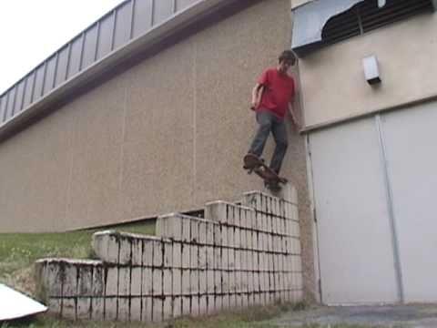 Kris Peck - Rural Alaskan Skateboarding 2003