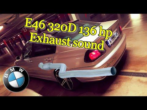 BMW e46 320d 136 hp Exhaust sound