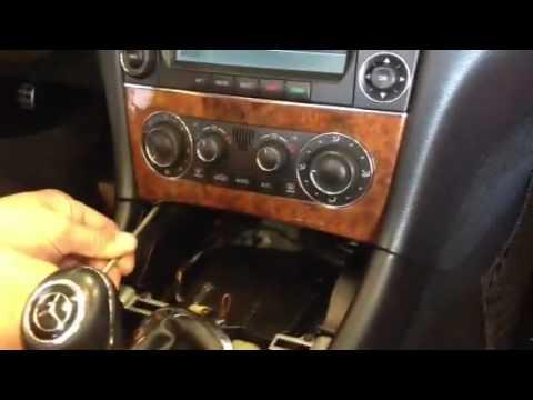 2006 Mercedes Benz CLK350 Radio dash removal HOW TO DiY
