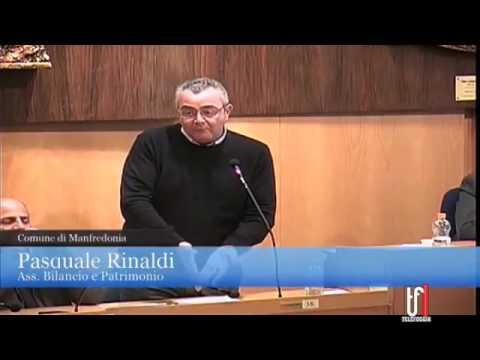 SEDUTA CONSIGLIO COMUNALE DI MANFREDONIA