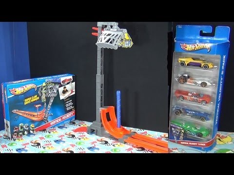 Vertical Velocity Hot Wheels Track Set Product Review