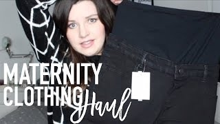 Here is a Maternity Clothing Haul for Y'all My Mum bought me a lot of Maternity Wear for Christmas there was so much I could do ...