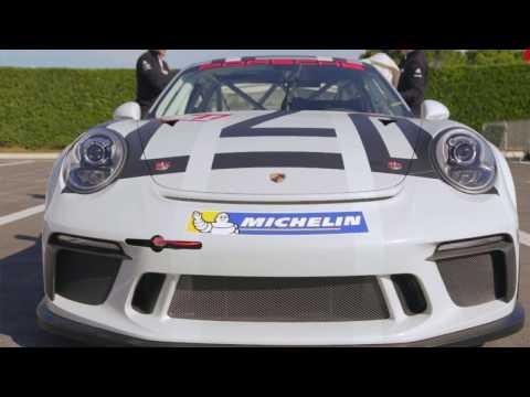 PORSCHE 911 GT3 CUP T2M SPA - MINICHAMPS 1/43 - 999 PCS 403056991