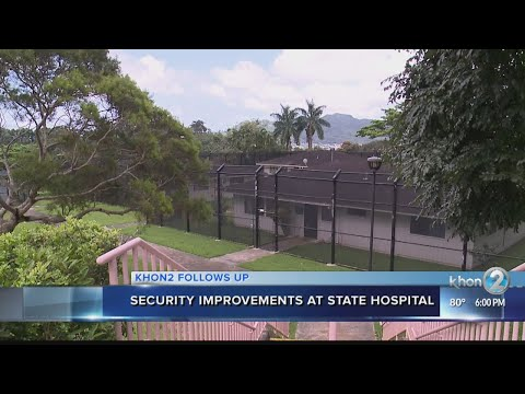 How can Hawaii State Hospital prevent another embarrassing escape?