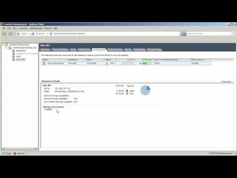 ¿Cómo activar Storage I/O Control en VMware vSphere 5?
