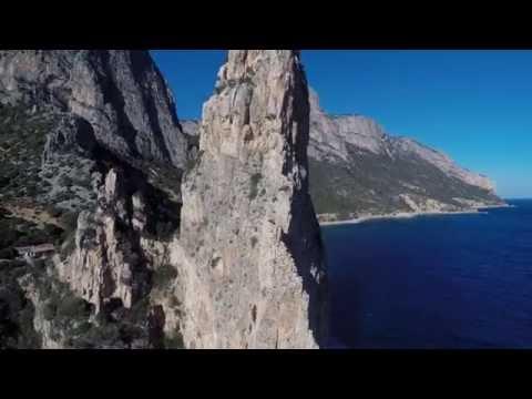 Sardegna Ogliastra Arbatax pedralonga Baunei drone