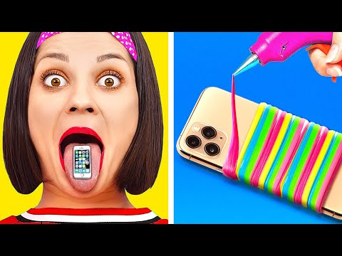 FUNNY LIFE HACKS TO MAKE YOUR LIFE EASIER! || Useful Tips And DIY Ideas by 123 Go! Gold