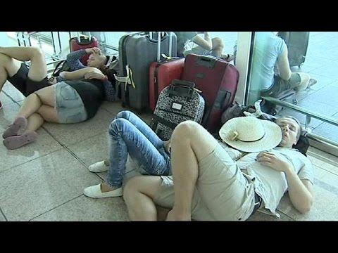 Ισπανία: Χάος στο αεροδρόμιο της Βαρκελώνης