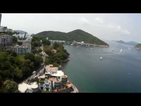 Wong Chuk Hang Drone Video