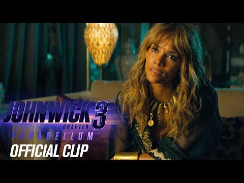 "John Wick: Chapter 3 - Parabellum (2019) Official Clip ""Management"" – Keanu Reeves, Halle Berry"