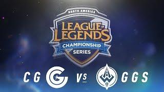 Video CG vs. GGS - Week 1 Day 1 | NA LCS Spring Split | Clutch Gaming vs. Golden Guardians (2018) MP3, 3GP, MP4, WEBM, AVI, FLV Agustus 2018
