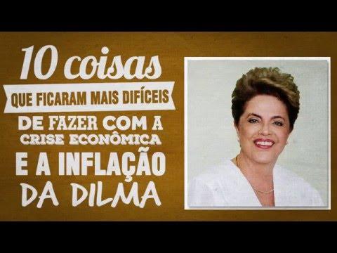 10 coisas que ficaram mais difíceis com a crise de Dilma