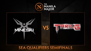 Mineski.Sports5 vs Team Taring - Game 1 - The Manila Major SEA Qualifiers - Philippine Coverage