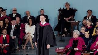 Graduate Speaker Pete Davis | Harvard Commencement 2018