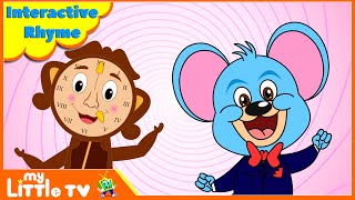 Presenting educational interactive rhyme video for young kids and toddlers to learn and to recognise various parts of the face, children begin to explore abo...